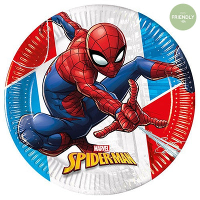Spiderman Paper Plates - Marvel Party