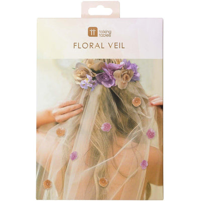 Talking Tables - Blossom Bride to Be Veil - BG-BRIDE-VEIL- The Original Party Bag Company