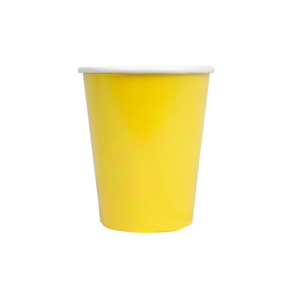 Talking Tables - Colour Block Paper Cups (Pk12) - bright-cup- The Original Party Bag Company