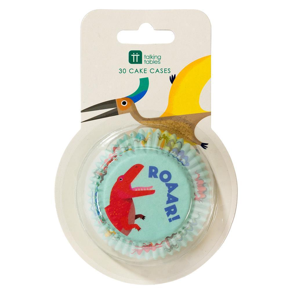 Talking Tables - Dinosaur Cupcake Cases (Pk30) - DINO-CAKECASE- The Original Party Bag Company