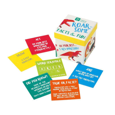 Talking Tables - Dinosaur Trivia Box - DINO-FACTS- The Original Party Bag Company