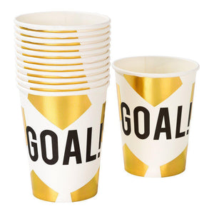 Talking Tables - Football Champions Cups - CHAMP-CUP-GOAL- The Original Party Bag Company