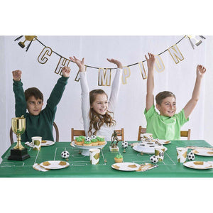 Talking Tables - Football Champions Napkins - CHAMP-NAPKIN-BOOT- The Original Party Bag Company