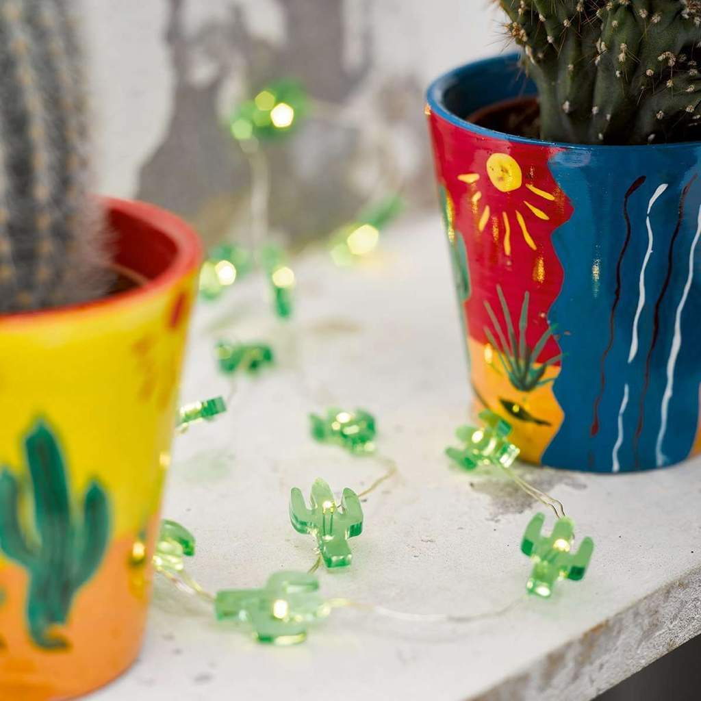 Talking Tables - Mini Cactus Lights - FST4-LIGHT-CACTUS- The Original Party Bag Company