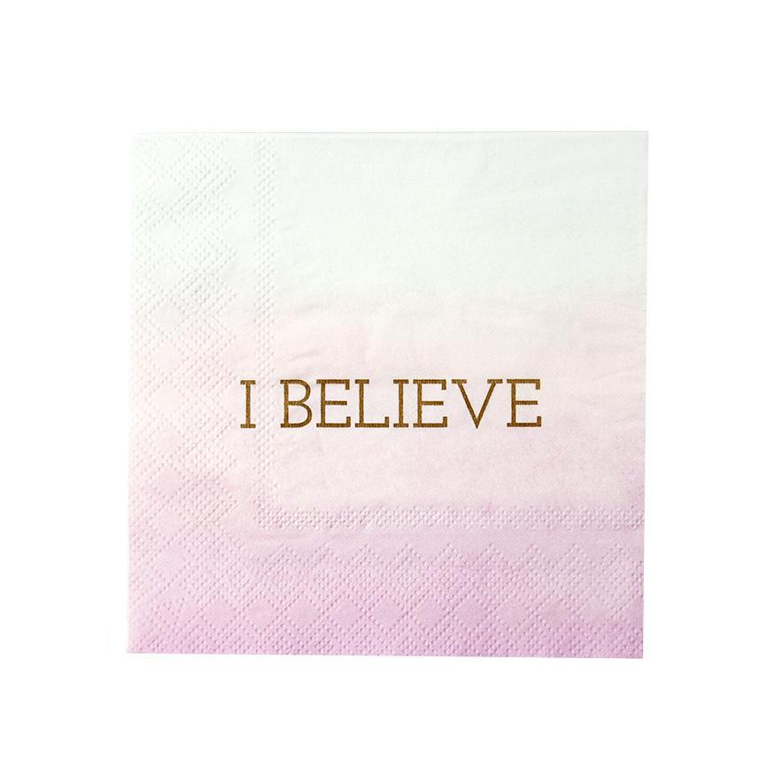 Talking Tables - Pastel Unicorn Napkins (Pk16) - UNICORN-CNAPKIN- The Original Party Bag Company