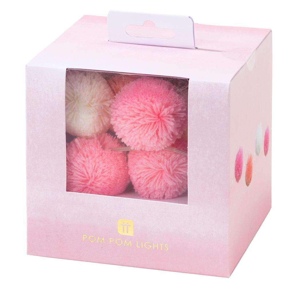 Talking Tables - Pink Pom Pom Lights - PINK-LIGHT-POM- The Original Party Bag Company