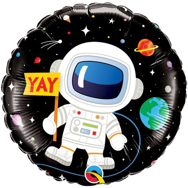 "The Original Party Bag Company - 18"" Foil Space Birthday Balloon - spac3foil2- The Original Party Bag Company"