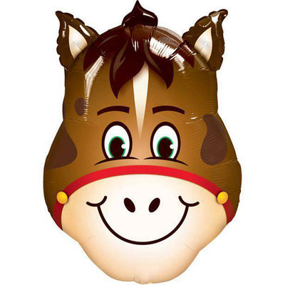 "The Original Party Bag Company - 32"" Cute Horse Balloon - cutehorse- The Original Party Bag Company"