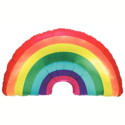 "The Original Party Bag Company - 36"" Giant Rainbow Balloon - rainbowfoil- The Original Party Bag Company"