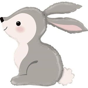 "The Original Party Bag Company - 36"" Woodland Bunny Balloon - 35879-p- The Original Party Bag Company"