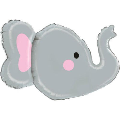"The Original Party Bag Company - 3D Elephant Balloon 34"" - 35567p- The Original Party Bag Company"