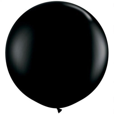 The Original Party Bag Company - 3ft Black Balloon - BM428572- The Original Party Bag Company