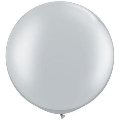 The Original Party Bag Company - 3ft Silver Balloon - 384022- The Original Party Bag Company