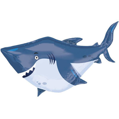 "The Original Party Bag Company - 40"" Friendly Shark Balloon - 3377401- The Original Party Bag Company"