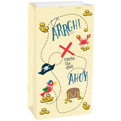 The Original Party Bag Company - Ahoy Birthday Paper Treat Bags (Pk8) - ahobbags- The Original Party Bag Company