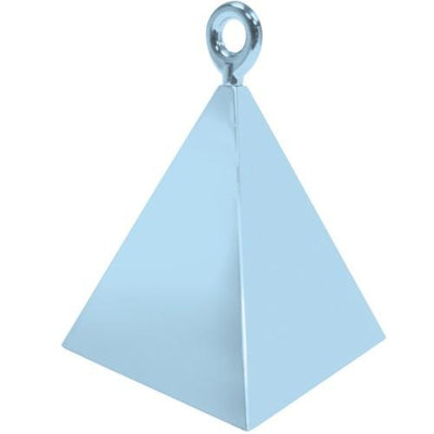 The Original Party Bag Company - Baby Blue Pyramid Balloon Weight - BM1440612- The Original Party Bag Company