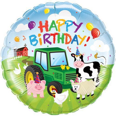 The Original Party Bag Company - Barnyard Foil Balloon - - The Original Party Bag Company
