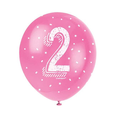 The Original Party Bag Company - Birthday Balloon 2 (Choose Your Colour) - birthdayballoon2pin- The Original Party Bag Company