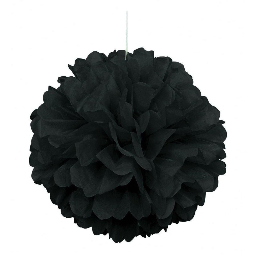 The Original Party Bag Company - Black Pom Pom - CR64270- The Original Party Bag Company