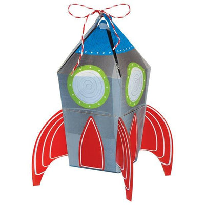 The Original Party Bag Company - Blast Off Birthday Favour Boxes (pk8) - blasboxf- The Original Party Bag Company