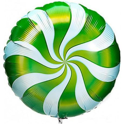 The Original Party Bag Company - Candy Swirl Green Balloon - TF64333- The Original Party Bag Company
