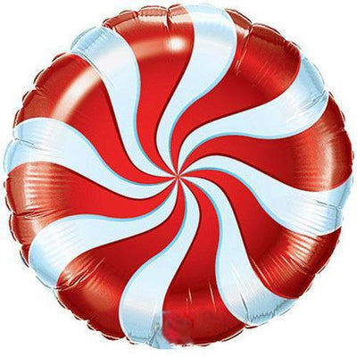 The Original Party Bag Company - Candy Swirl Red Balloon - TF64329- The Original Party Bag Company
