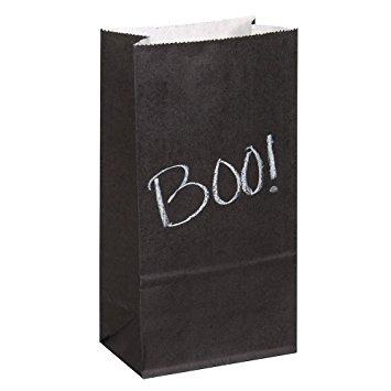 The Original Party Bag Company - Chalkboard Party Bags (Pk8) - TF63567- The Original Party Bag Company