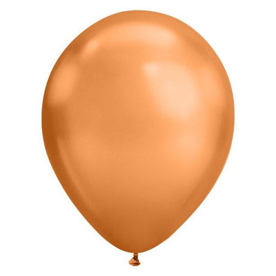 The Original Party Bag Company - Copper Chrome Balloons (Pk5) - copperchro- The Original Party Bag Company
