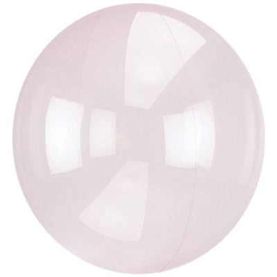 The Original Party Bag Company - Crystal Clear Pale Pink Bubble Balloon - 8284911- The Original Party Bag Company
