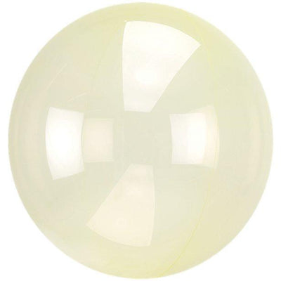 The Original Party Bag Company - Crystal Clear Yellow Bubble Balloon - 8285211- The Original Party Bag Company