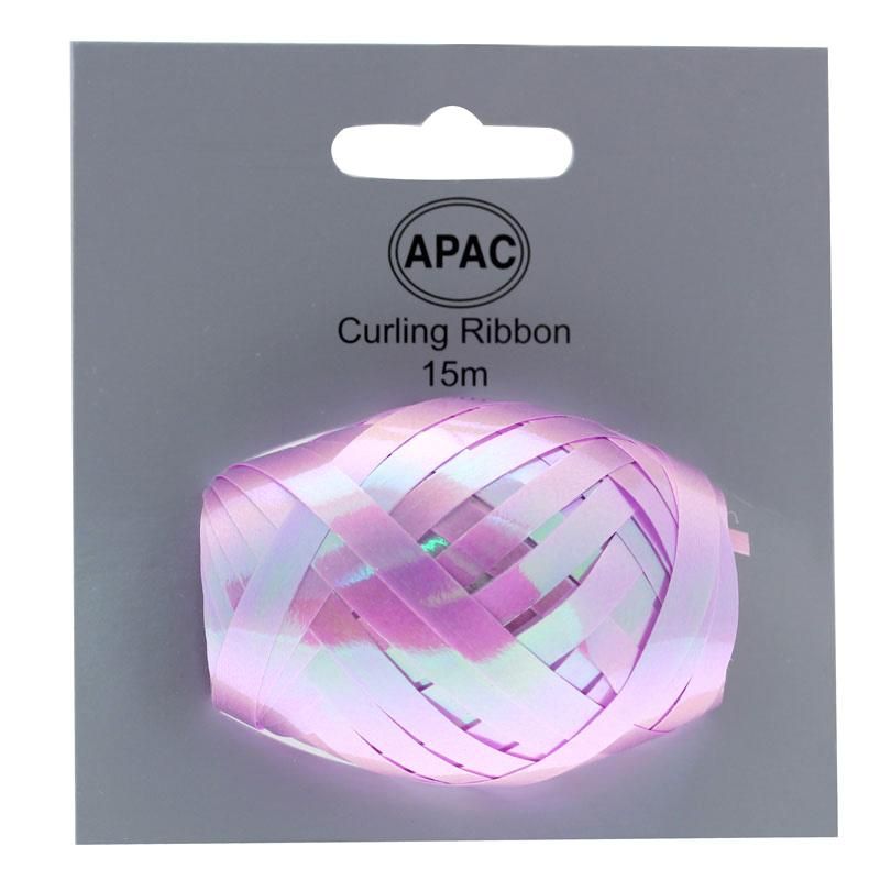 The Original Party Bag Company - Curling Ribbon Iridescent Lilac 15m - 118740- The Original Party Bag Company
