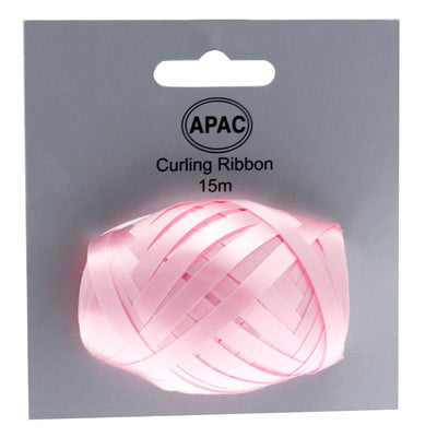 The Original Party Bag Company - Curling Ribbon Light Pink 15m - 118757- The Original Party Bag Company