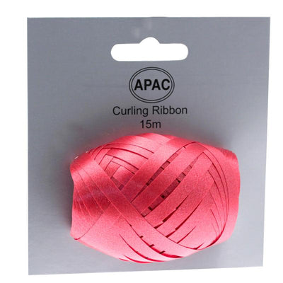 The Original Party Bag Company - Curling Ribbon Red 15m - 118752- The Original Party Bag Company