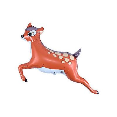 The Original Party Bag Company - Cute Deer Balloon - GAZELLE- The Original Party Bag Company