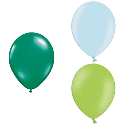 The Original Party Bag Company - Dinosaur Themed Balloons (Pk12) - dinosaurbm- The Original Party Bag Company