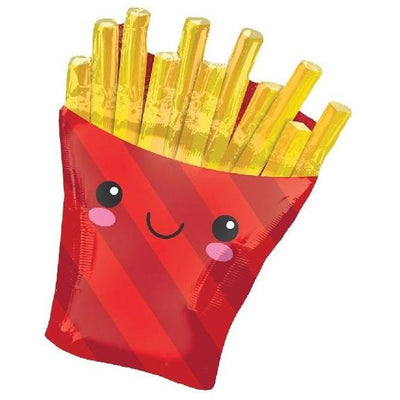 The Original Party Bag Company - French Fries Balloon - 127393- The Original Party Bag Company