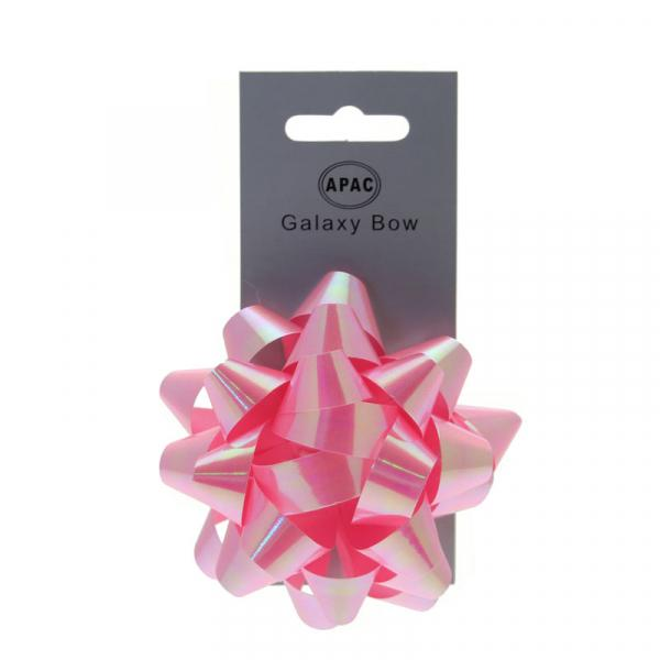The Original Party Bag Company - Galaxy Bow Iridescent Pink - 118462- The Original Party Bag Company