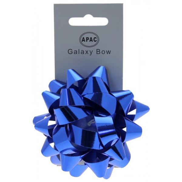 The Original Party Bag Company - Galaxy Bow Metallic Blue - 118473- The Original Party Bag Company