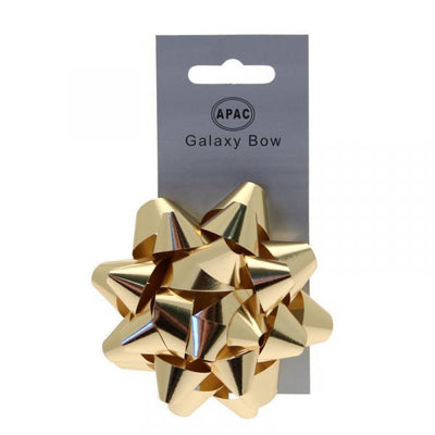 The Original Party Bag Company - Galaxy Bow Metallic Gold - 118469- The Original Party Bag Company