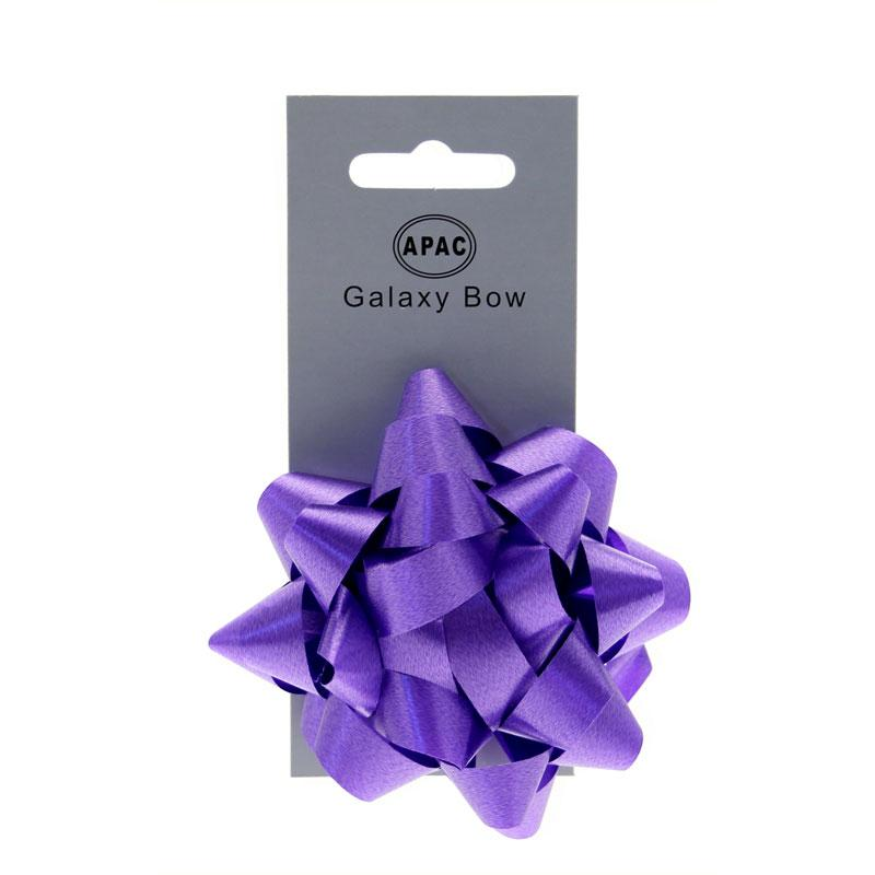 The Original Party Bag Company - Galaxy Bow Purple - 118467- The Original Party Bag Company