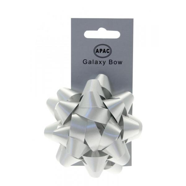 The Original Party Bag Company - Galaxy Bow Silver - 118477- The Original Party Bag Company