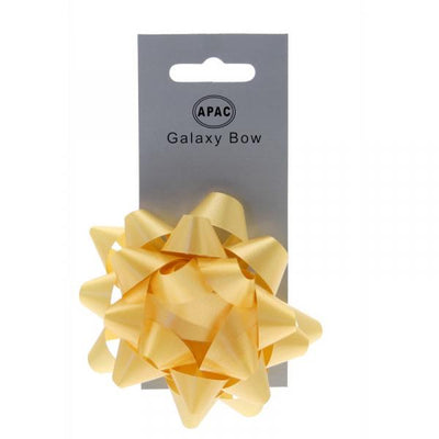 The Original Party Bag Company - Galaxy Bow Yellow - 118478- The Original Party Bag Company