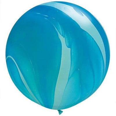 The Original Party Bag Company - Giant Blue Marble Balloon - 63756bm- The Original Party Bag Company