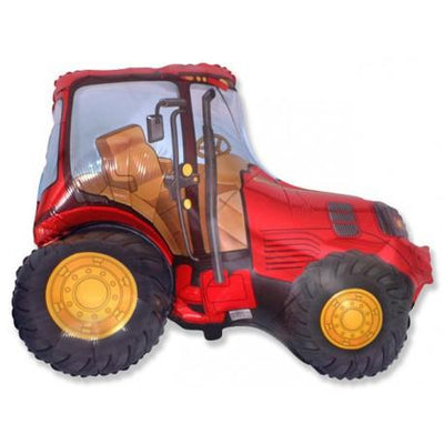 The Original Party Bag Company - Giant Red Tractor Balloon - TRACTORED- The Original Party Bag Company