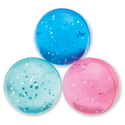 The Original Party Bag Company - Glittery Bouncy Ball - Glitball- The Original Party Bag Company