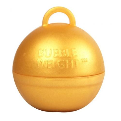 The Original Party Bag Company - Gold Bubble Weight - BW014- The Original Party Bag Company