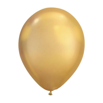 The Original Party Bag Company - Gold Chrome Balloons (Pk5) - chromegold- The Original Party Bag Company