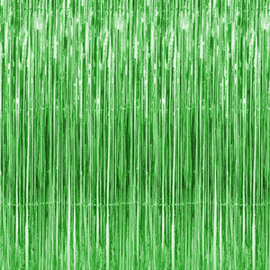 The Original Party Bag Company - Green Party Backdrop - greencurtain- The Original Party Bag Company