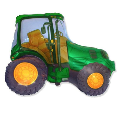 The Original Party Bag Company - Green Tractor Balloon - TRACTORG- The Original Party Bag Company