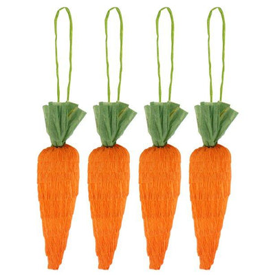 The Original Party Bag Company - Hanging Carrots (Pk4) - hangingcarrot- The Original Party Bag Company
